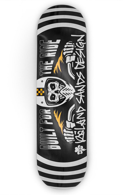 Roland Sands Design Built For The Ride Skateboard Deck