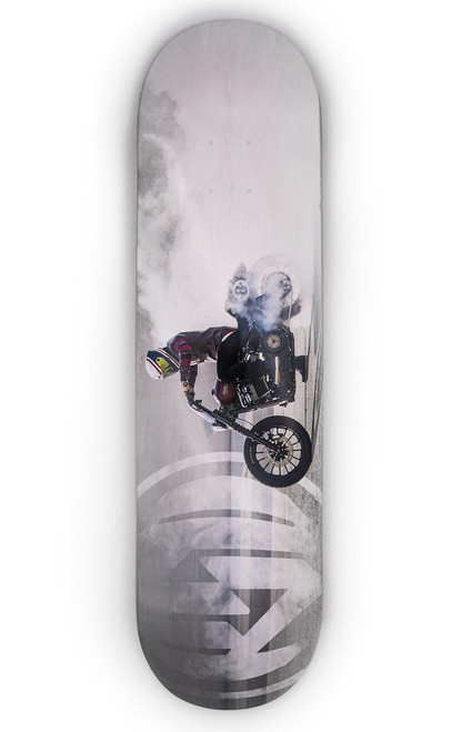 Roland Sands Design Burnout Skateboard Deck