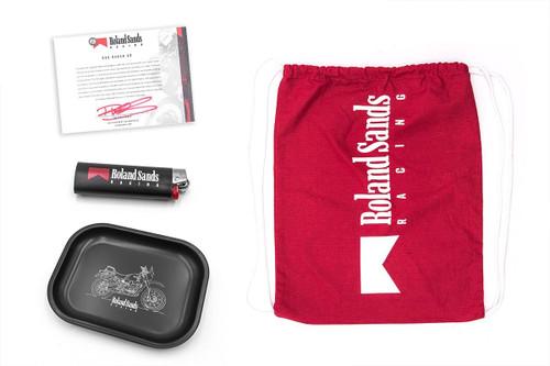 Roland Sands Design Roland Sands Racing Bag, Rolling Tray and Lighter