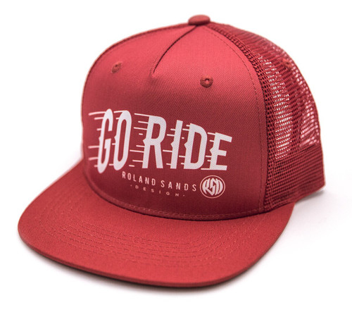 Roland Sands Design Go Ride Trucker Hat