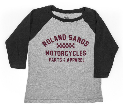 Roland Sands Design Heritage Youth Raglan Shirt