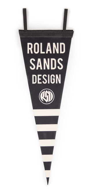 Roland Sands Design Stripe Pennant