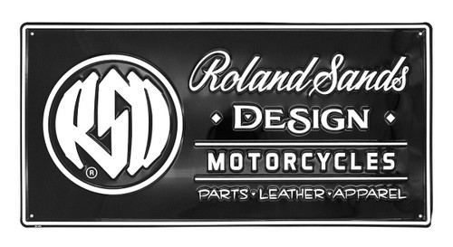 Roland Sands Design RSD Metal Sign