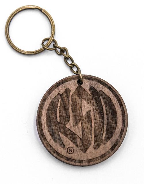Roland Sands Design Icon Wood Keychain