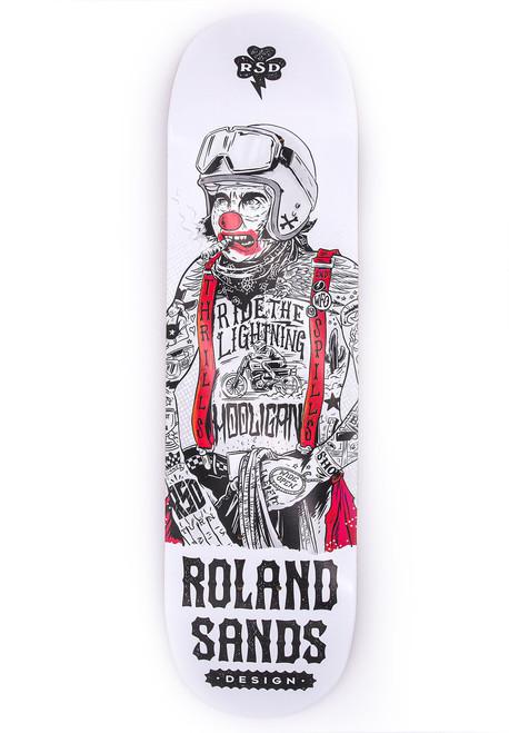 Roland Sands Design Hooligan Clown Skateboard Deck