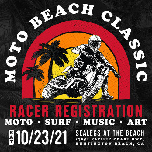 Roland Sands Design SHNC ROUND IV Rider Sign Ups Moto Beach Classic