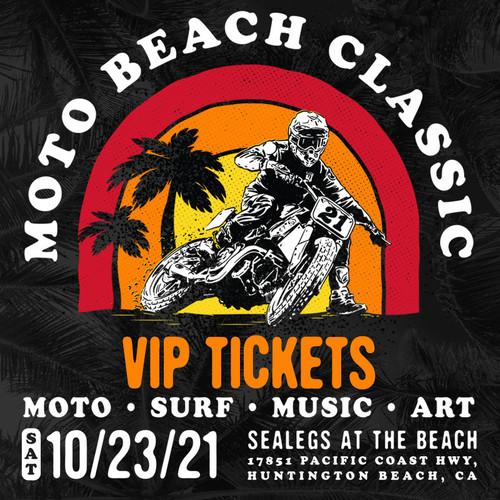 Roland Sands Design Moto Beach Classic 2021 VIP Ticket