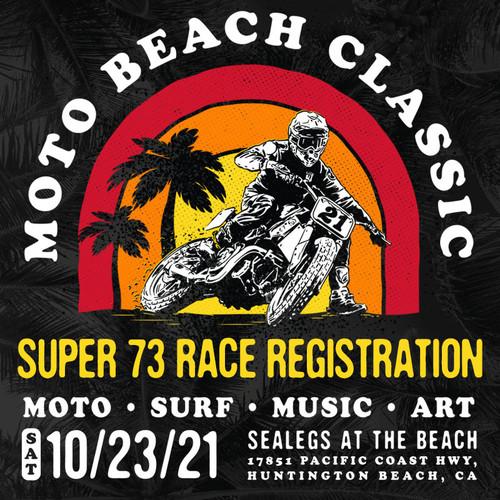 Roland Sands Design SUPER 73 Rider Sign Ups Moto Beach Classic