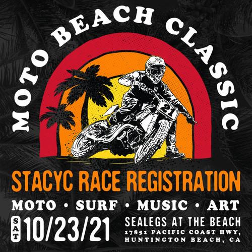 Roland Sands Design Stacyc Demo and Racer Sign Ups Moto Beach Classic
