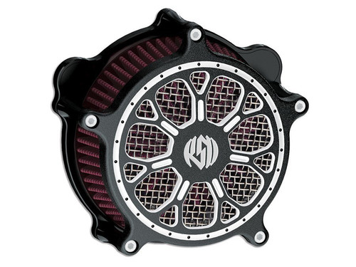 Roland Sands Design Del Mar Venturi Air Cleaner for Harley