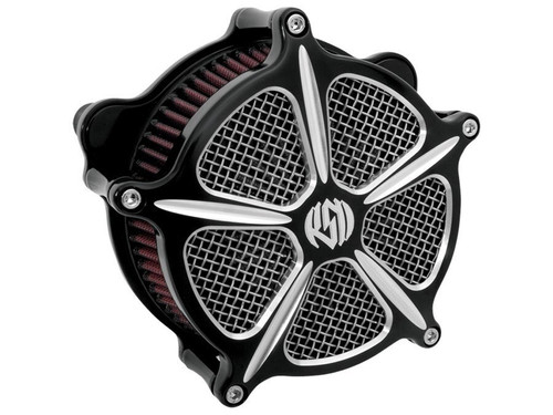 Roland Sands Design Speed 5 Venturi Air Cleaner for Harley
