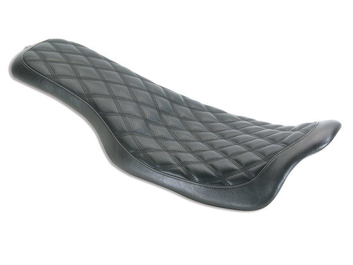 Roland Sands Design Boss Flatout 2-Up Seat for Harley Touring