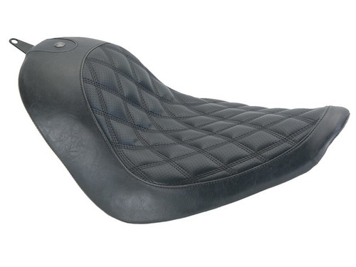 Roland Sands Design Boss Solo Seat for Harley Softail with 200mm Tires