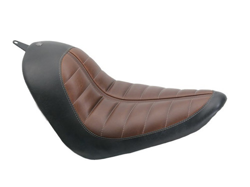 Roland Sands Design Enzo Solo Seat for 200mm Tire Harley Softail