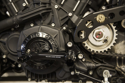 Roland Sands Design Mid Controls for Indian Scout