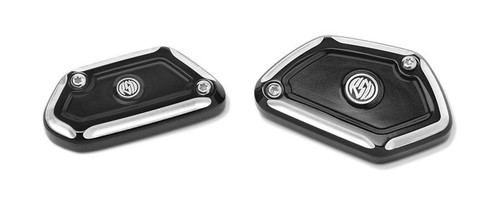 Roland Sands Design Assault Brake and Clutch Reservoir Covers for BMW
