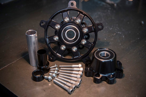 Roland Sands Design Flat Track Race Front Wheel TT Hub Kits