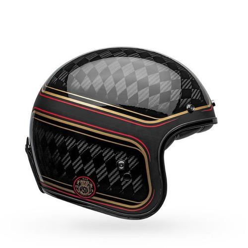 Bell Helmets Bell Custom 500 Carbon RSD Checkmate Helmet