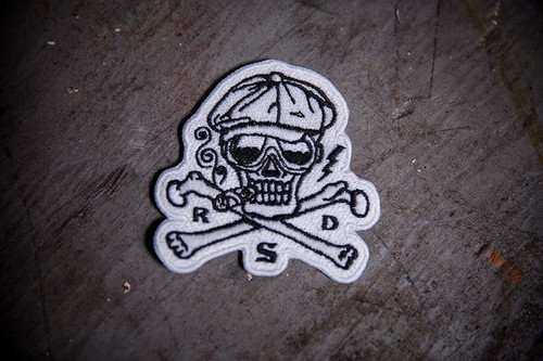 Roland Sands Design Hooligan Skull Patch