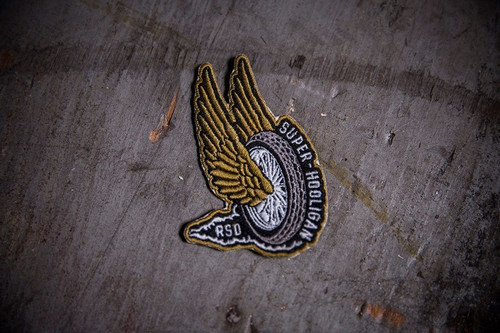Roland Sands Design Super Hooligan Wing and Wheel Patch