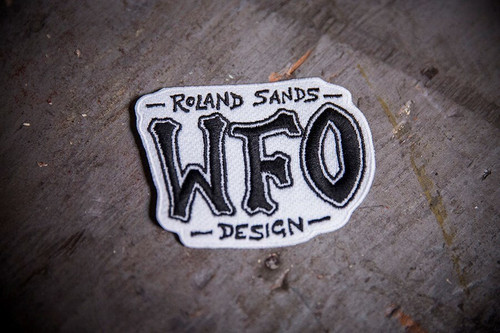Roland Sands Design WFO Patch