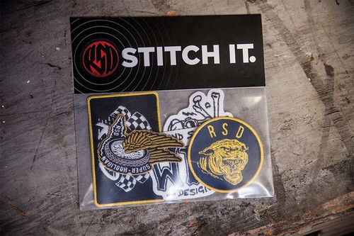 Roland Sands Design Patch Pack