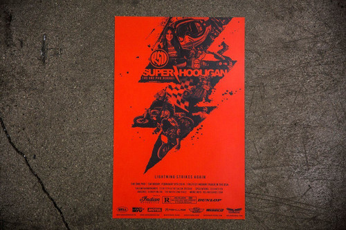 Roland Sands Design 2019 SHNC Round 1 One Pro Poster