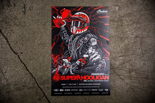 Roland Sands Design 2019 SHNC Round 4 SoCal Fairgrounds Poster