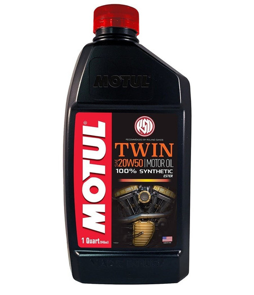 MOTUL Motul RSD Twin SAE 20W50 Synthetic Engine Oil
