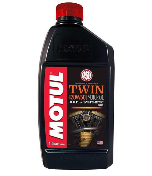 MOTUL Motul RSD Twin SAE 20W50 Synthetic Engine Oil