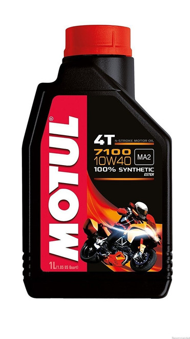 MOTUL Motul 7100 4T 10W-40 Synthetic Engine Oil