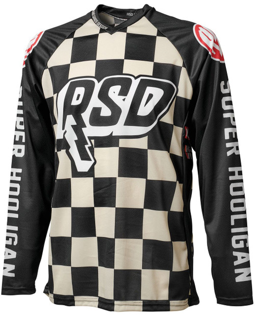 Roland Sands Design Checkers Hooligan Jersey