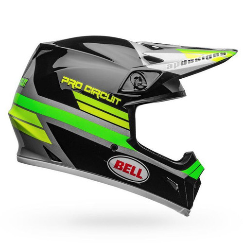 Bell Helmets Bell MX-9 MIPS Pro Circuit Replica 2020 Helmet