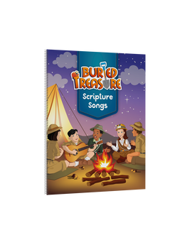 Buried Treasure Scripture Song book
