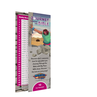 Journey Through the Bible bookmark 12