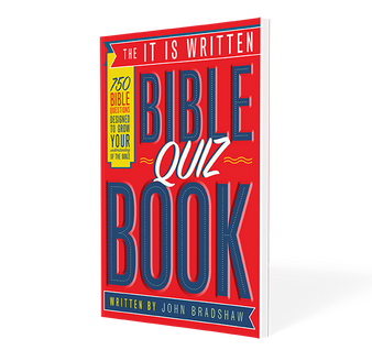 The It Is Written Bible Quiz Book