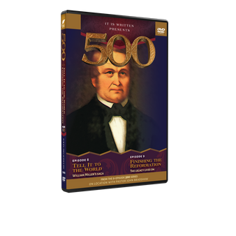 500: Episodes 8 And 9 Dvd (Tell It To The World & Finishing The Reformation)