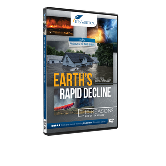 Prequel of the Bible: Earth's Rapid Decline