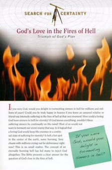 Search For Certainty #17 - God's Love in the Fires of Hell