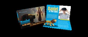 Media Sharing Cards - Daniel VR (Pack of 100)