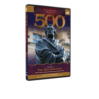 500: Episode 1 DVD (The Reformation)