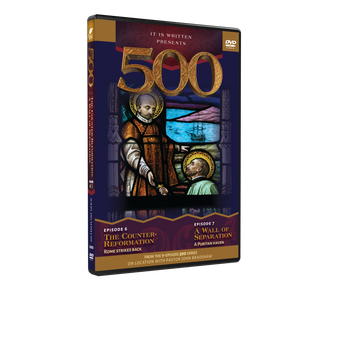 500: Episodes 6 and 7 DVD (The Counter-reformation & A Wall of Separation)