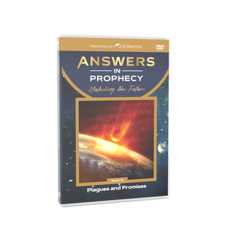 Answers In Prophecy: Plagues and Promises 9 DVD