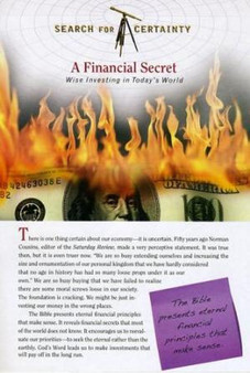 Search For Certainty #19 - A Financial Secret
