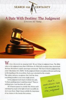 Search For Certainty #10 - A Date With Destiny