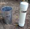 Turf-Tec Mariotte Tubes (One Tube 10000 ml Only) - Shown with IN16 Infiltration ring (Not Included)