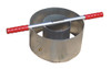 IN8P-W - Turf-Tec Heavy Duty Tall Infiltration Rings - 6 and 12 inch diameter by 7 inches tall with ports for optional Mariotte Tubes