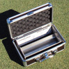 HGPRISM-FIFA-G -  Turf-Tec FIFA Height of cut prism scale lines match new 2015 FIFA testing guidelines - Unit shown with hard case (Included)