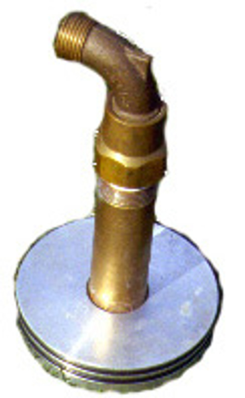 Aqua-Quicks-1-M - Aqua-Quicks (Set 2) with Brass Hose Swivel and 6 inch  tall steel riser