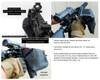 AR 15/AR 10 LONG FRAME Throw Lever quick detach mount brass catcher